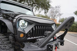 TITAN Gladiator Grille and Illuminex Halo LED Headlight Combo
