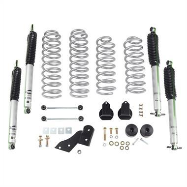Rubicon Express - 2.5 Inch Standard Coil Lift Kit with Mono Tube Shocks for JK-JKU (2007-2018)