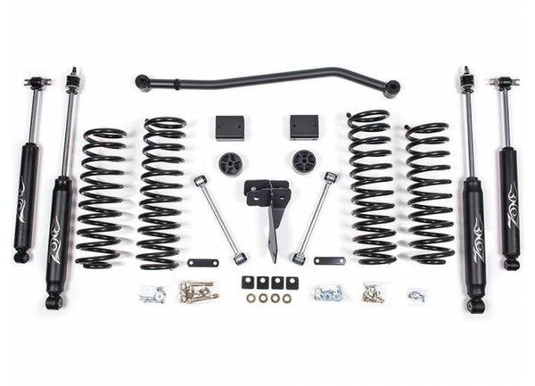 Zone Offroad - 4 in. Lift Kit w- Nitro Shocks JKU (2007-2018) 4 Door
