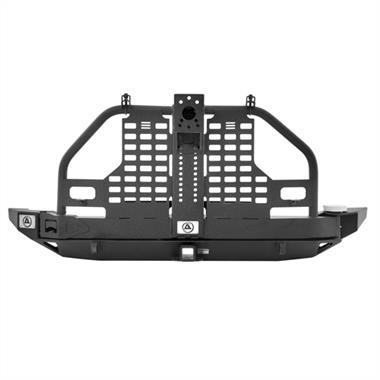 Smittybilt XRC Atlas Rear Bumper and Tire Carrier For Jeep Wrangler (JK-JKU 2007-2018)