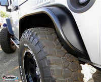 GenRight Off Road - Rear Tube Flares