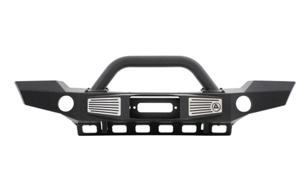 Smittybilt XRC Atlas Front Bumper w- Grill Guard & Fog Light Holes For Jeep Wrangler (JK-JKU 2007-2018)