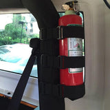 Jeep Wrangler Roll Bar Fire Extinguisher Mount