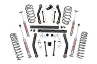 Rough Country Jeep Wrangler 4 in. Lift Kit w- Shocks 90730