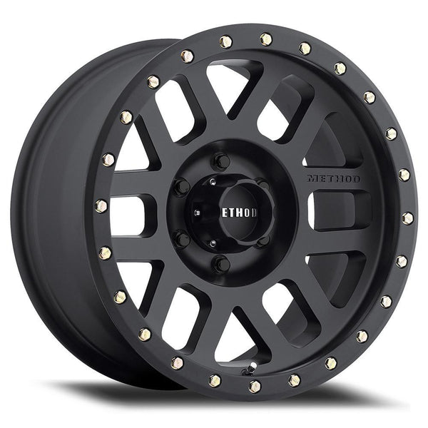 Method - 309 | Grid | Matte Black Wheel