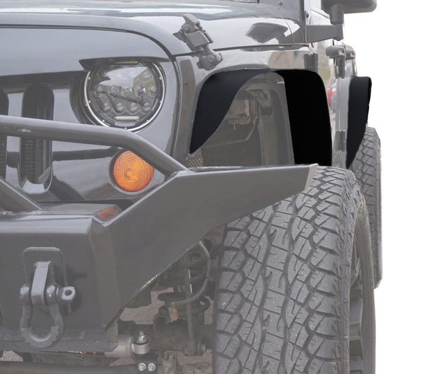 Jeep Wrangler Steel Flat Top Metal Fenders for JK (2007-2018)