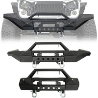 Opar Trail Force HD Modular Front Bumper For Jeep Wrangler (JK-JKU 2007-2018)