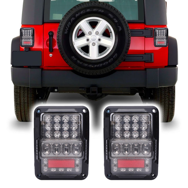 Jeep Wrangler Super Nova LED Tail Lights (2007-2018)