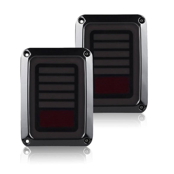 Jeep Wrangler Laser LED Tail Lights