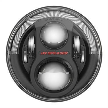 "JW Speaker 8700 Evolution J2 Series Dual Burn 7"" LED Headlights  for JK-JKU (2007-2018)"