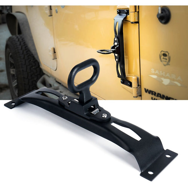 Xprite Door Hinge Side Foot Step For Jeep Wrangler (JK-JKU 2007-2018)