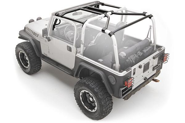 Smittybilt SRC Roll Cage Kit For Jeep Wrangler (JK-JKU 2007-2018)