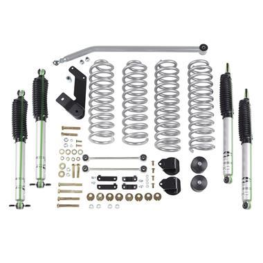 Rubicon Express - 3.5 Inch Standard Coil Lift Kit with Mono Tube Shocks for JK-JKU (2007-2018)