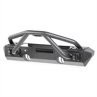 Rugged Ridge - XHD Front Bumper Kit, Striker-Stubby