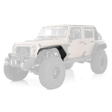 Smittybilt XRC Flux Front Fender Flare Set For Jeep Wrangler (JK-JKU 2007-2018)