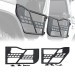Titan Front & Rear Tube Doors For Jeep Wrangler (JK-JKU 2007-2018)