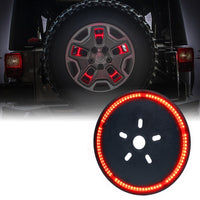 "14"" Cyclone Series Spare Tire LED Third Brake Light For Jeep Wrangler (JK-JKU 2007-2018)"