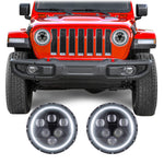 Jeep Wrangler JL & JLU Alien LED Headlights (2018+)