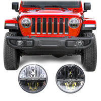 Jeep Wrangler JL & JLU LED Conversion Headlights (2018+)