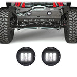 Jeep Wrangler JK & JKU LED Fog Lights (2007-2018)