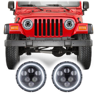 Jeep Wrangler TJ & LJ Alien LED Headlights (1997-2006)