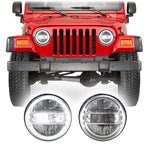 Jeep Wrangler TJ & LJ LED Conversion Halo Headlights (1997-2006)