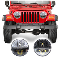 Jeep Wrangler TJ & LJ LED Conversion Headlights (1997-2006)