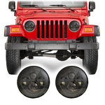 "Jeep Wrangler TJ & LJ LED Pro 7"" Headlights (1997-2006)"