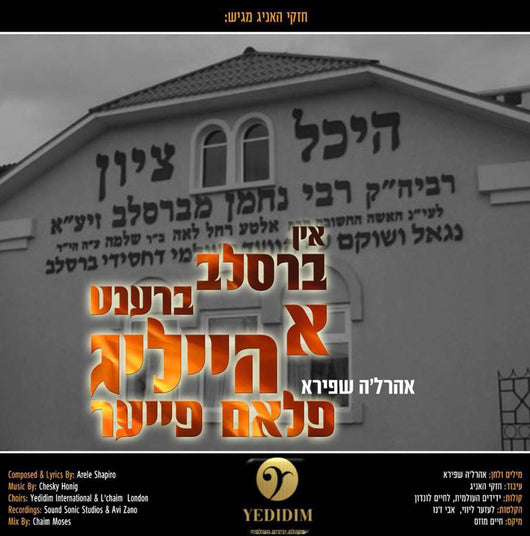 Ahrele Shapiro - In Breslov Brent a Heilige Flam Fire