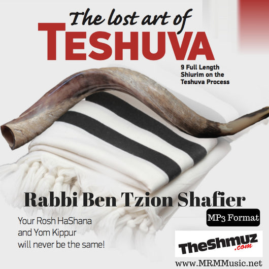 Rabbi Benzion Shafier - The Lost Art of Teshuva