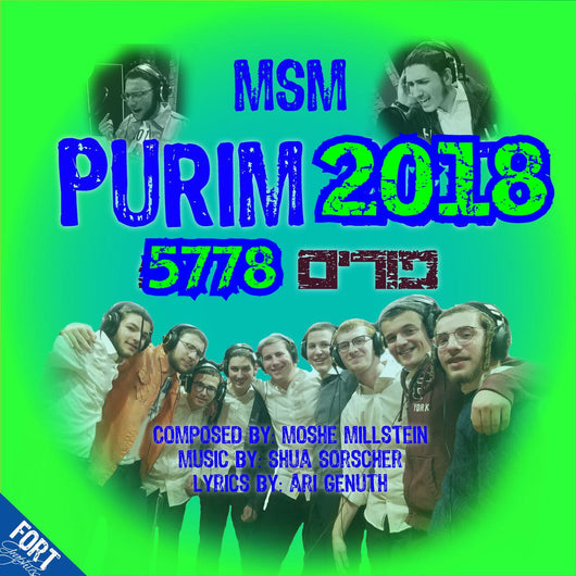 MSM Boys - Purim 2018