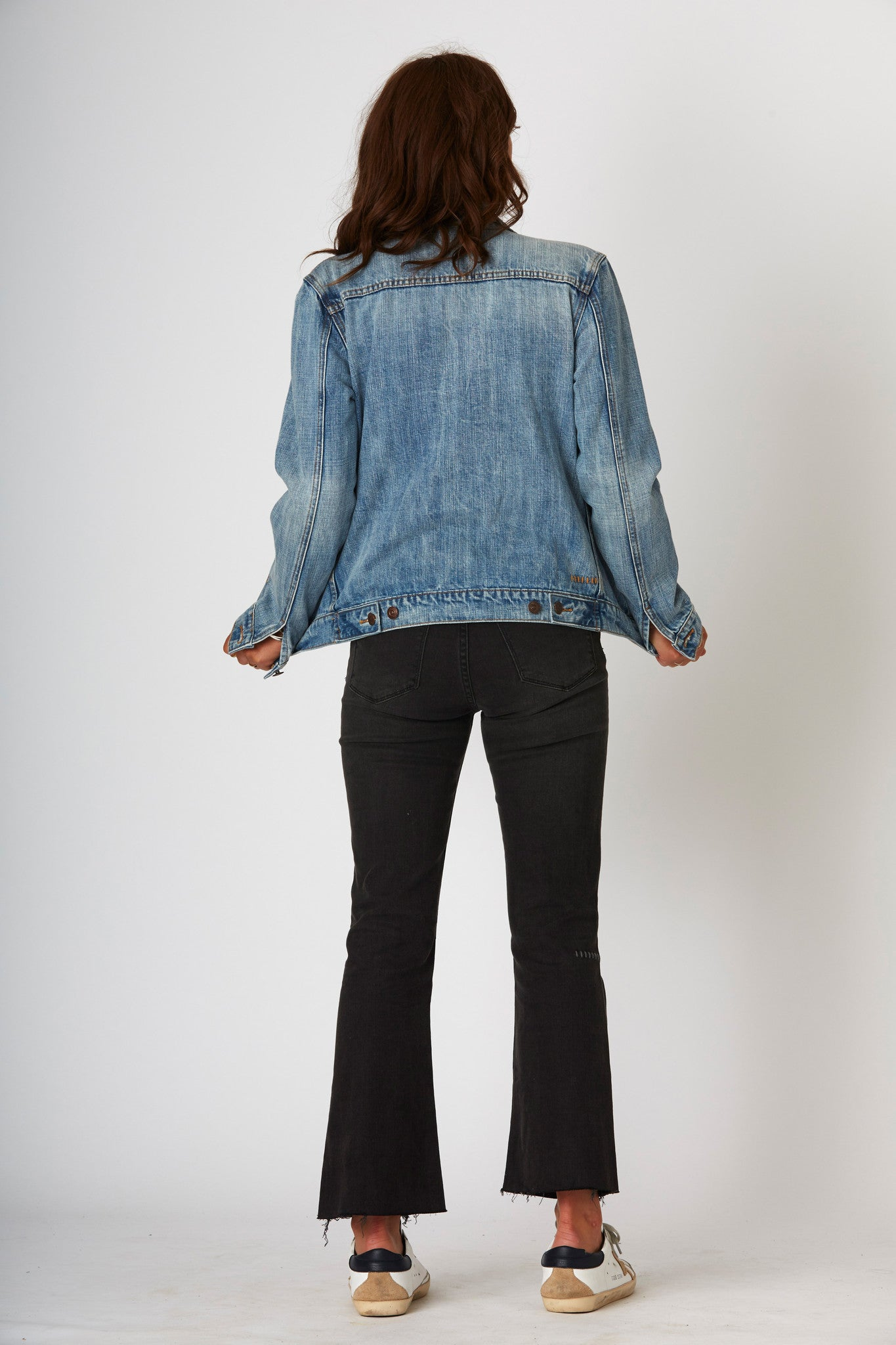 #1G12F Unisex Jacket Rust Blue - denimcolab