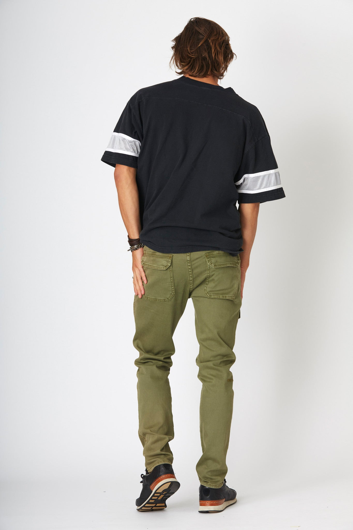 #2A13 Utility Slim Mill Green - denimcolab