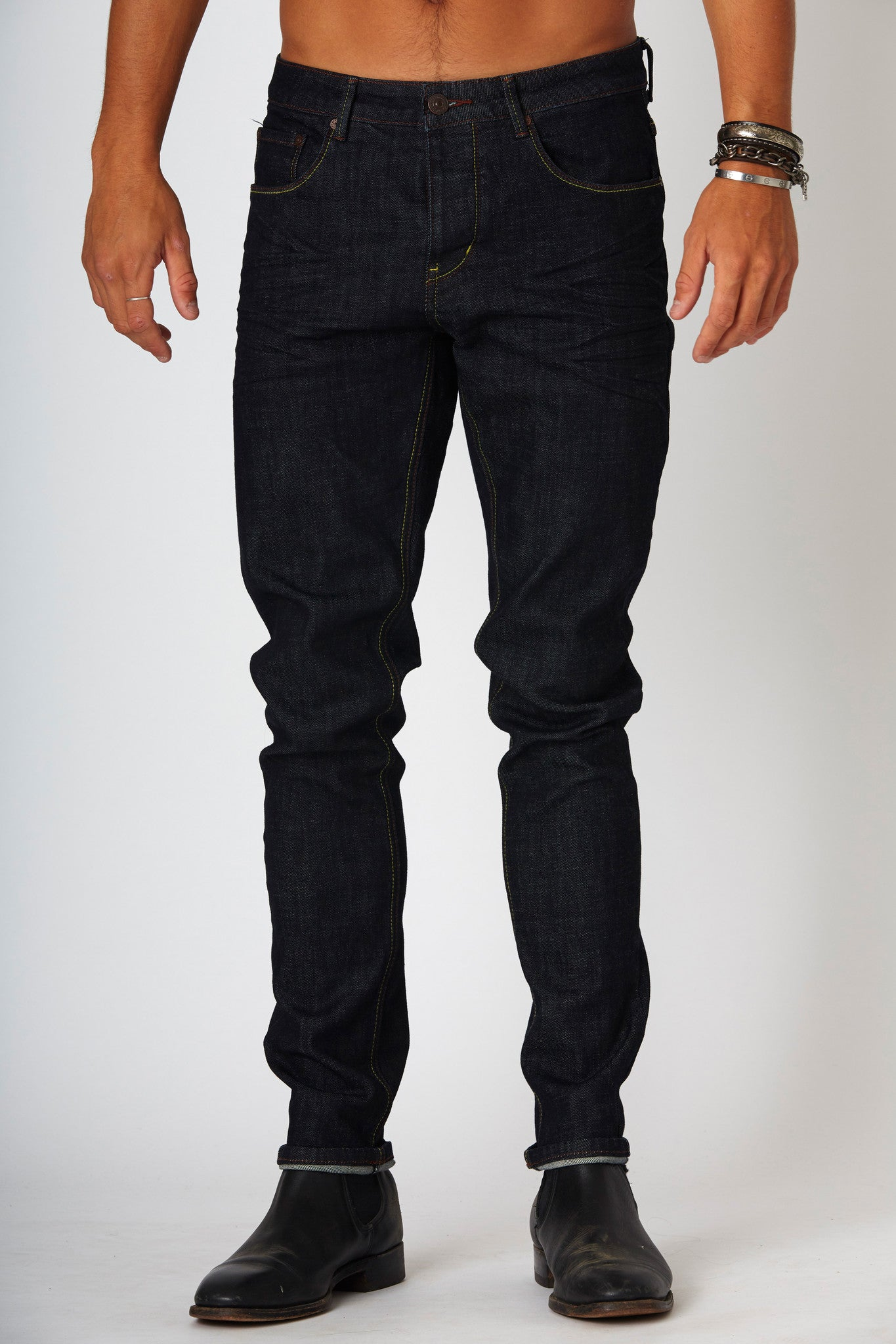 #2A18 Stretch Slim Brooklyn Raw - denimcolab