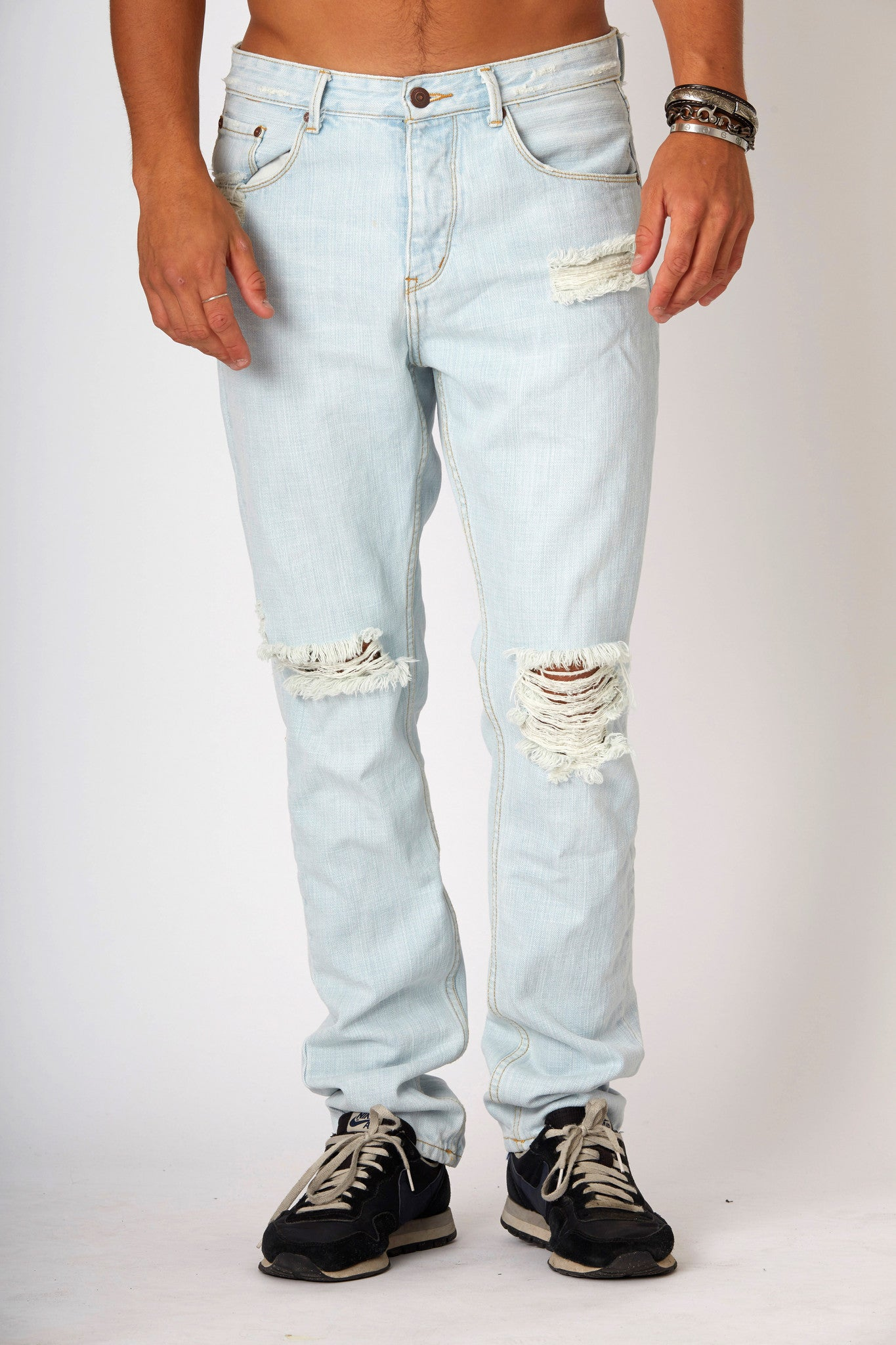 #2A23 Straight Rigid Antarctic Blue - denimcolab