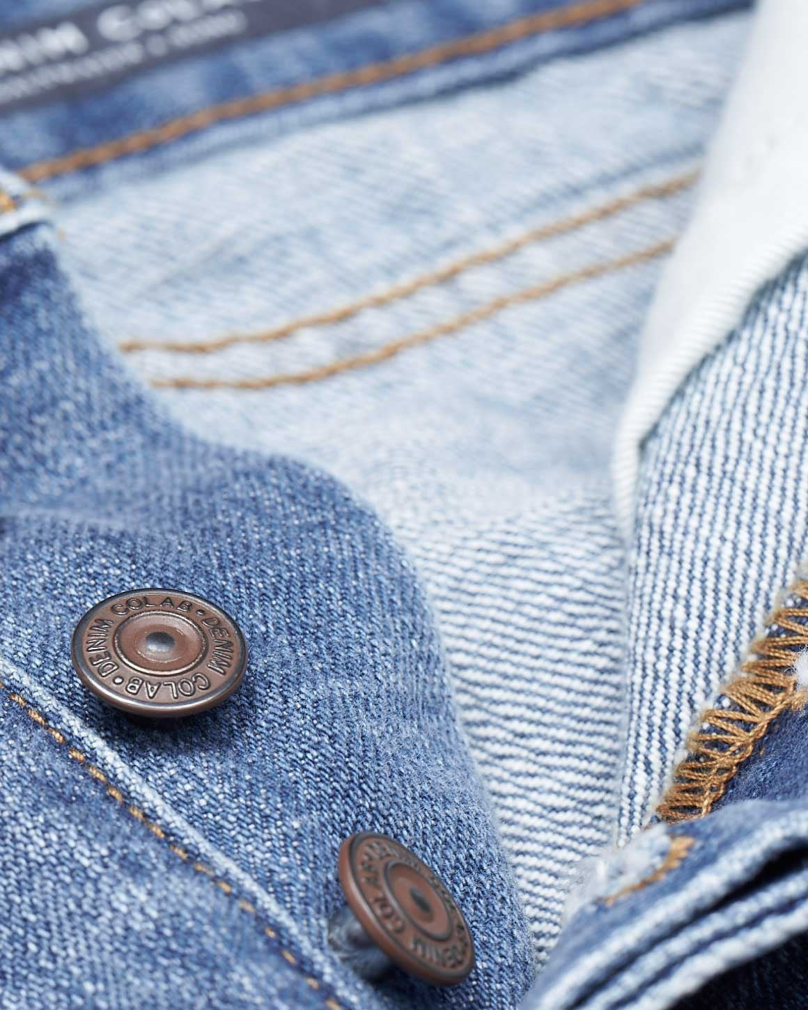 #2A23 Straight Rigid Rust Blue - denimcolab