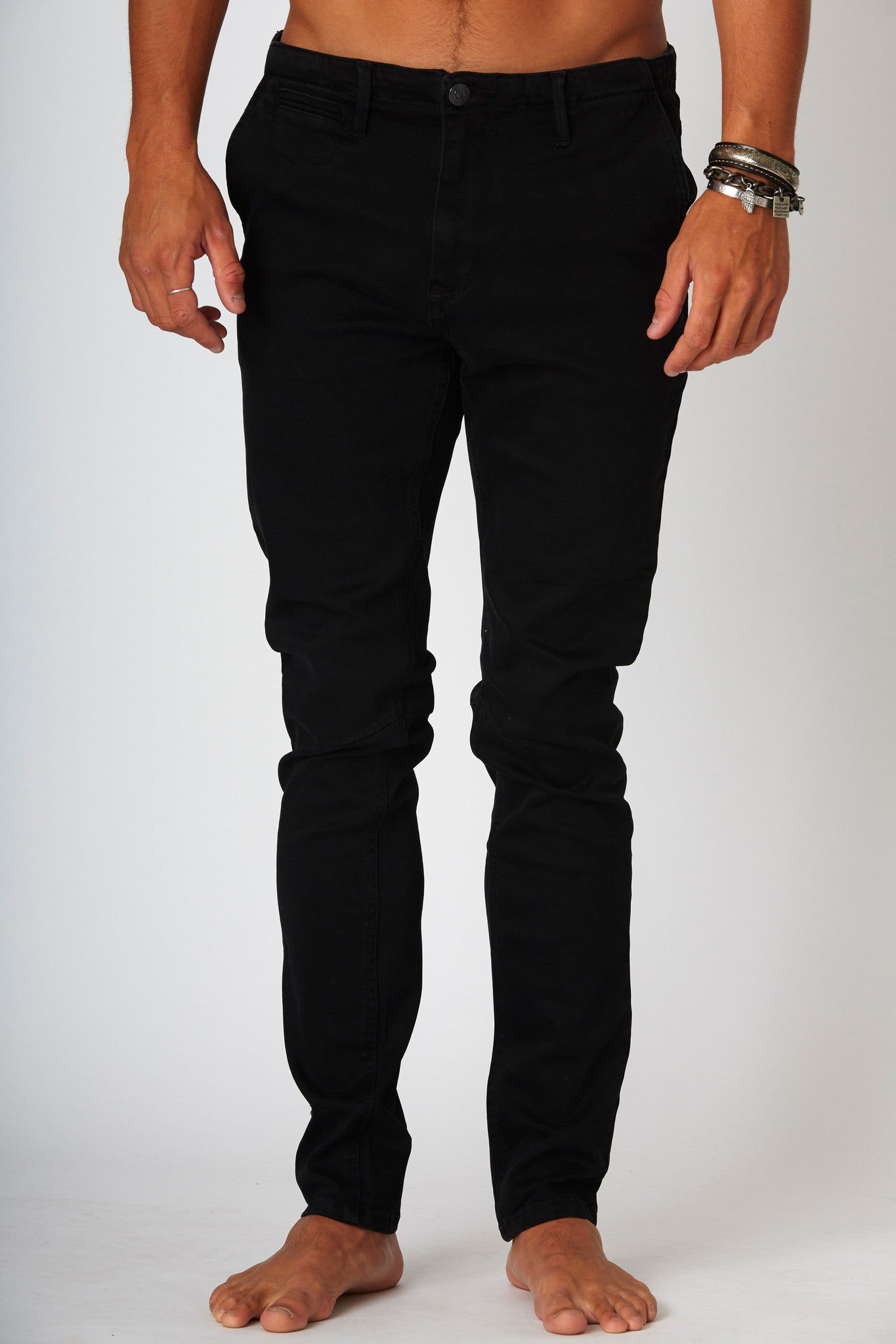 #2A27 Apostle Pants Crow Black - denimcolab