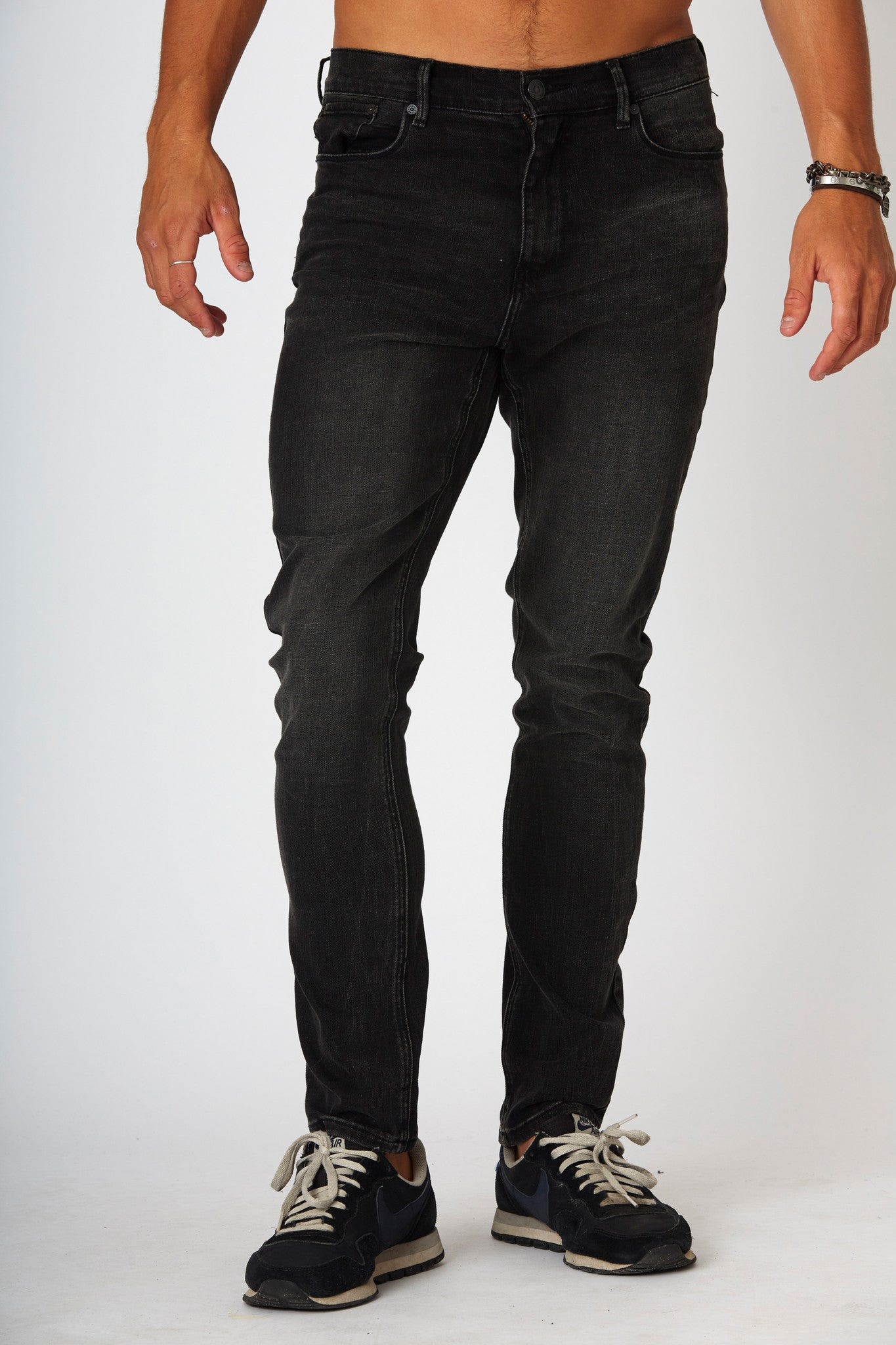 #2A30 Skinny Stretch Black Teak - denimcolab