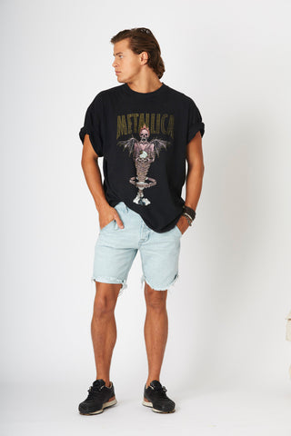 #2D23 Cut Off Shorts Antarctic Blue - denimcolab