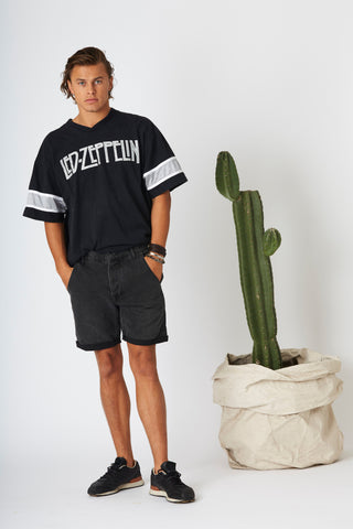 #2D23 Cut Off Shorts Cosmic Black - denimcolab