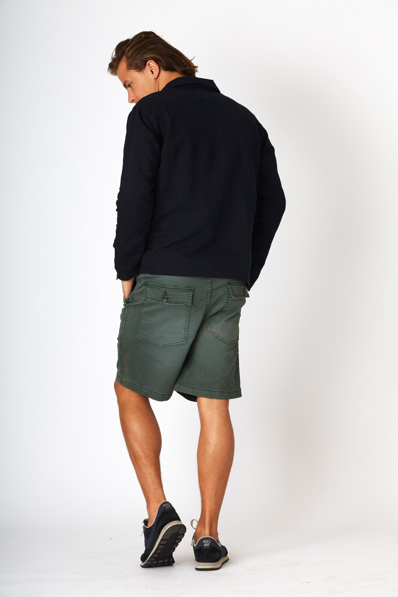 #2D24 Military Short Mossy Green - denimcolab