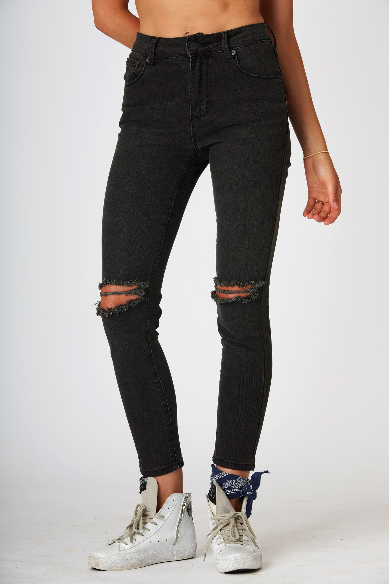 #3A15 Mid Ankle Phase Black 3 - denimcolab