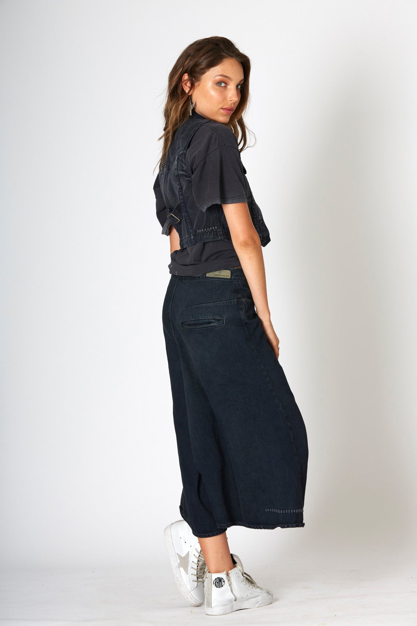 #3B10 Four Mile Culotte Dark Indigo - denimcolab