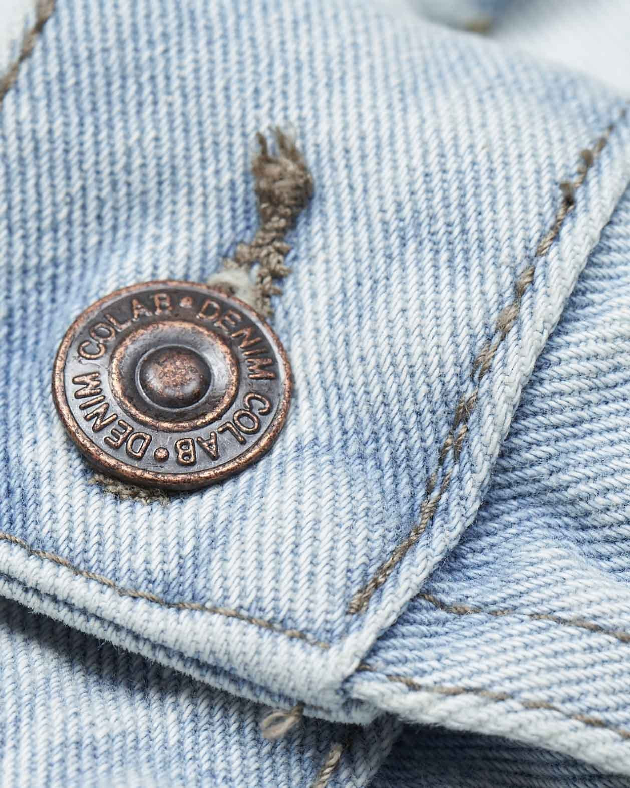 #3G11 Trucker Jacket Cloudy Blue - denimcolab