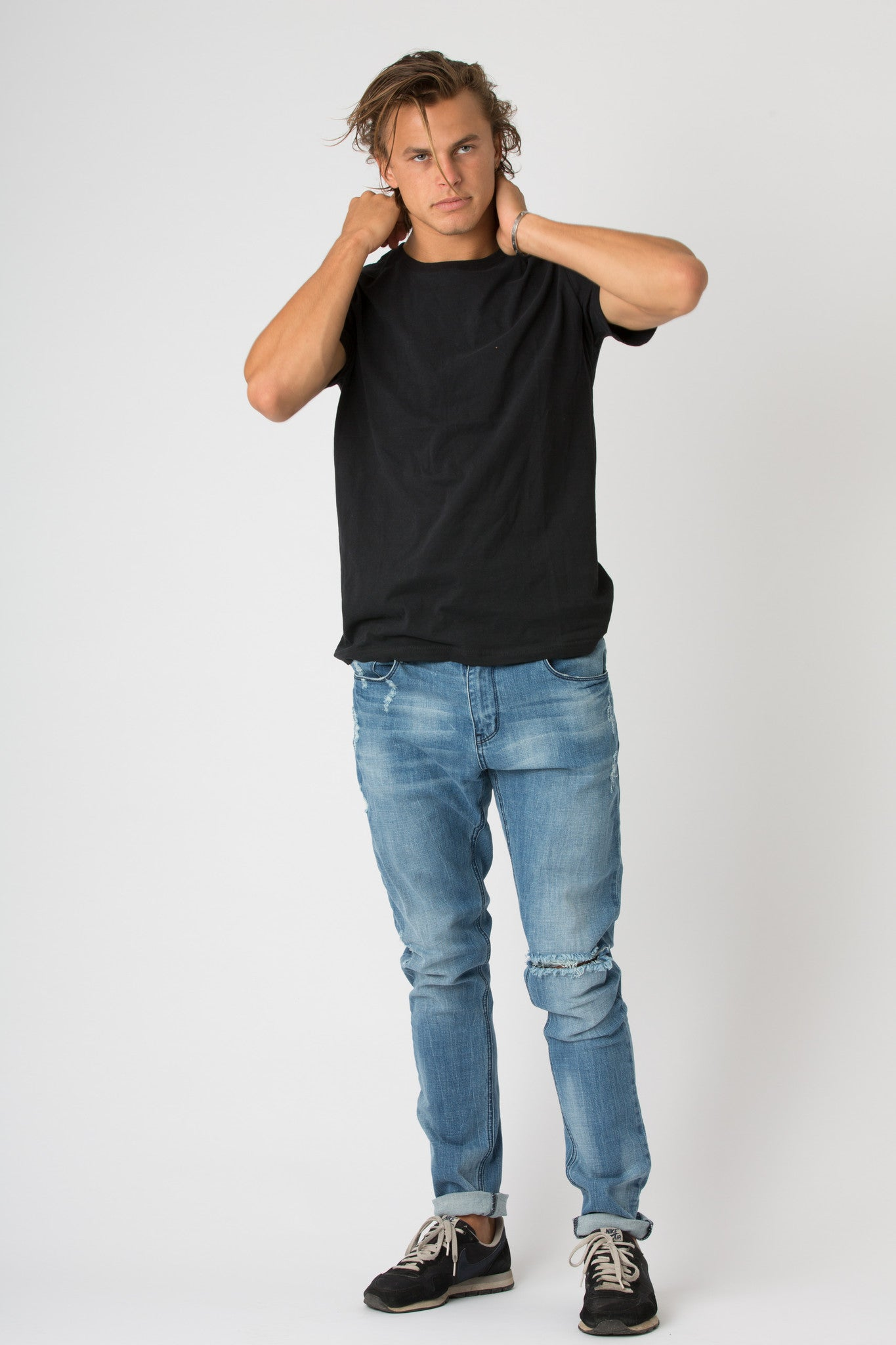 #2A18 Stretch Slim Blue Coal 2 - denimcolab