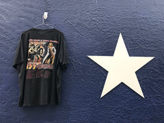 #1N12 Vintage T-shirt Kiss Aerosmith - denimcolab