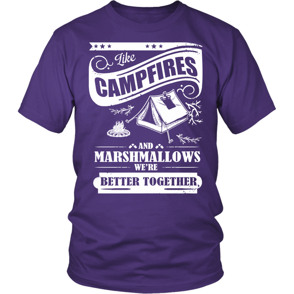 Unisex Shirt/Hoodie - Campfires & Marshmallows