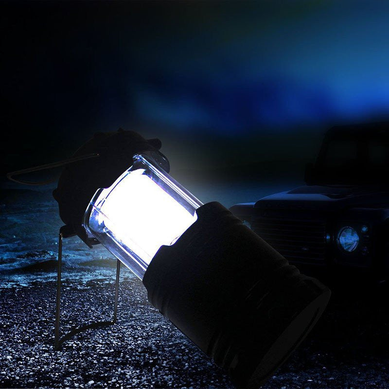 Rechargeable Solar LED Light Outdoor Camping Lantern - Base Trail