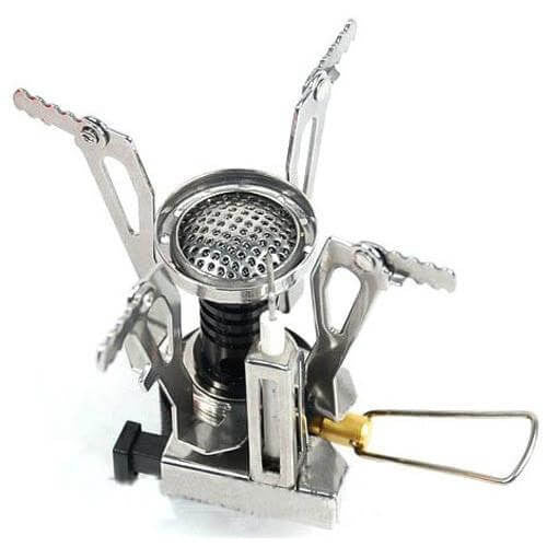 Ultraportable Canister Camp Stove - Base Trail