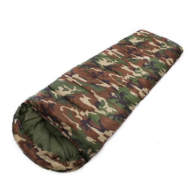 Adult Camouflage 3-Season Sleeping Blag - Base Trail